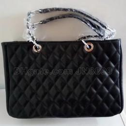 Wholesale Retro Vintage Tote - Hot Sale Classic Female Leather Shoulder Bags Women Messenger Bag Vintage Chain Handbag Bags Designer Retro Tote Bags