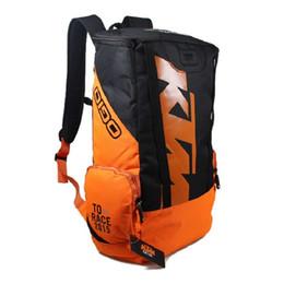 Wholesale Ktm Accessories - New KTM Motorcycle Bag Racing Backpack Waterproof Motorbike Oil Fuel Tank Bag Saddle Bag Fashion Motorcycle Accessories