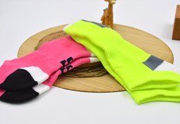 Wholesale Fluorescent Socks - Women's Socks Jacquard Cotton Sweat Socks Spring and Summer Fluorescent Sports Socks Breathable and Comfortable Sock YD-W-011