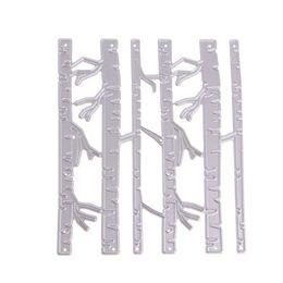 Wholesale Paper Crafting - Birch Trees DIY Metal Cutting Dies Stencil Scrapbook Card Album Paper Embossing Craft