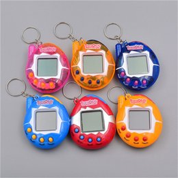 Wholesale Wholesale Pet Bird Toys - New Arrival electronic pet game machine Tamagochi pet in 1 Learning Education toys For children Funny Tamagochi