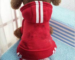 Wholesale Cute Funny Dog Clothes - Funny Pet Dog Clothes Winter Warm Fleece Costume Puppy Coat Outfit For Dog Clothes For Small Dogs Cute Pet Clothing Hoodie 39S1