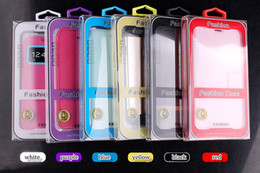 étui de téléphone universel 5.5 Promotion 2017 nouveau design de haute qualité PVC boîte avec carte de couleur universelle intérieure pour 4.7 pouces et 5.5 pouces cas de téléphone portable pour Samsung iphone téléphone intelligent