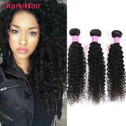 Монгольские кудрявые вьющиеся волосы онлайн-Glary продукты волос норки бразильский кудрявый вьющиеся девственные волосы расслоение сделок монгольский кудрявый вьющиеся человеческие волосы ткать расширения 6 шт. мода пункт