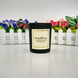 Wholesale Home Scented - Scented candles smokeless candle jars natural soybean wax and natural flavor great gift for birthday wedding party home decoration 329g
