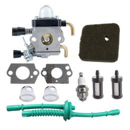 Wholesale Fuel Line Kits - C1Q-S97 Carburetor with Air Filter Fuel Line Kit for STIHL FS38 FS45 FS46 FS55 KM55 HL45 FS45L FS45C FS46C FS55C FS55R FS55RC String Tr
