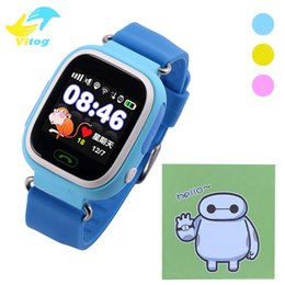 Wholesale baby touch monitor screen - Q90 GPS smart watch baby watch with Wifi touch screen SOS Call Location DeviceTracker for Kid Safe Anti-Lost Monitor