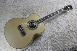 Wholesale Solid Spruce Rosewood - Wholesale-Free Shipping Wholesale & Retail Custom Shop New Arrival Dot Spruce Beige Acoustic Guitar 140401