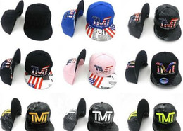 Wholesale trukfit pink - 2017 news Snapback Caps Adjustable All Team Basketball Hats Black Trukfit Hip Hop Snapbacks High Quality Players Sports
