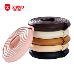 Wholesale Free Coffee Tables - Wholesale- New And Hot Children Safety Products Baby Crash Bar Glass Coffee Table Desk Corner Child Protection Strip Free Shipping 10-006