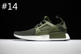 Wholesale Ladies Black Silver Shoes - 2017 New NMD XR1 fall olive green sports shoes ladies men young running shoes Free Shipping Size 40-44