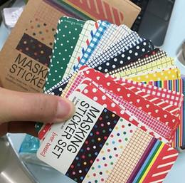 En gros 27 pcs / ensemble Washi Scrapbook Base Pastel Masquage Bande Artisanat Autocollants Pack BRICOLAGE Album Journal Étiquetage Décoratif Art Adhésifs ? partir de fabricateur