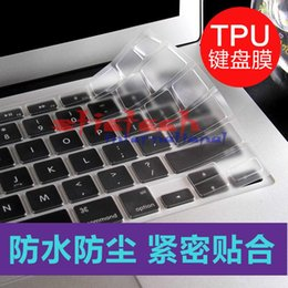 Wholesale Macbook Pro Cover Tpu - by dhl or ems 1000pcs UltraThin Clear US Keyboard Cover TPU Silicon Clavier Sticker Skin for MacBook Air Pro 11 12 13 15 17Inch