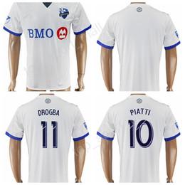 Wholesale Fc Uniforms - 17-18 Soccer FC Montreal Impact Jersey 7 Dominic Oduro Football Shirt Uniforms Thai 8 Patrice Bernier 10 Ignacio Piatti 11 Didier Drogba
