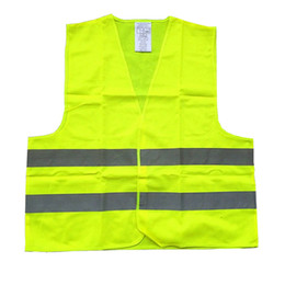 Wholesale Yellow Reflective Vest - Reflective Safety Vest Yellow for Construction Traffic High Visibility