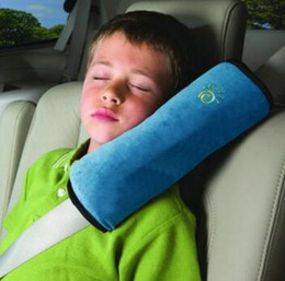 Wholesale Car Seats For Children - Baby Auto Pillow Car Covers Safety Belt Shoulder Pad Cover Vehicle Baby Car Seat Belt Cushion for Kids Children Car Styling