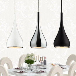Wholesale office room colors - Free ship American Style Pendant Lamp Dia16cm*H120cm Kitchen Pendant Light Aluminum  Chrome 110-240V Three Colors Dinning Light