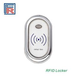 Wholesale Hotels Locks - 10pcs lot Low LF 125Khz Card Electric Wireless Sauna door locker Hotel Fitness Cabinet lock Zinc alloy