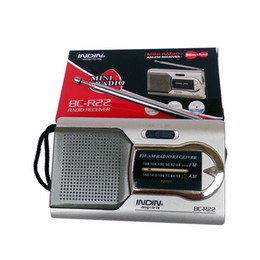 Universal Slim AM / FM Mini Radio World Receptor Estéreo Altavoces Reproductor de música desde fabricantes