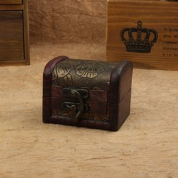 Wholesale Boxes Sell Jewelry - Sell like hot cakes European creative wooden box Receive a store content box and joyful small box