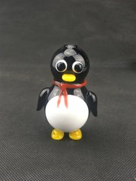Wholesale Penguin Factory - Penguin Design Smoking Mini Water Tobbaco Hand Pipe Spoon Pipes New Fashion 2017 Factory Derict Wholesale Pipes High Quality