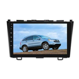 "Wholesale Car Dvd Honda Crv - 10.2"" Quad Core Android 6.0.1 System Car DVD Multimedia Player For Honda CRV 2007-2011 GPS Navi RDS BT Phonebook WIFI 3G 4G OBD Touch Screen"