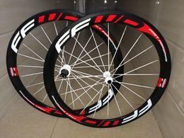 Wholesale Cross Fix - 700C carbon wheels tubular 50mm road cyclo cross wheelset 23mm width UD matte with disc brake wheelset
