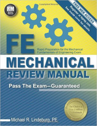 Wholesale Electronic Mechanical - FE Mechanical Review Manual 978-1591264415 text books 20pcs
