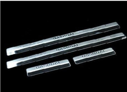 Wholesale Nissan Door Sills - Door sill strip car accessories car styling For Nissan QASHQAI 2015 welcome pedal Trim 4pcs