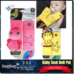 Wholesale Child Car Neck - BenBat Travel Friends Seat Belt Pal Baby Children Child Car Safety Belt Protective Head And Neck Support Child Pillow