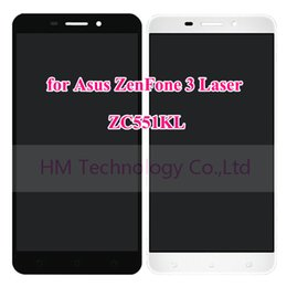 """lcd zenfone Скидка Wholesale- 5.5"""" LCD+TP for Asus ZenFone 3 Laser ZC551KL LCD Display and Touch Screen Digitizer Assembly Replace Parts Free Shipping+Tools"""