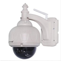 Wholesale Wanscam Ptz Ip Camera - Wanscam Optical HD PTZ Wireless Outdoor NightVision Security IP Camera 1MP