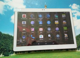 Wholesale Android Phablets - Tablet 10.1inch Android 5.1 Octa Core MTK6592 4G Phone Call Tablet 4GB  32GB Dual SIM card with Bluetooth GPS IPS phablets