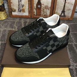 Wholesale Men S Upper - 2017 European luxury brands, style, new casual men and women, general, color leather mesh fabric, decorative leather breathable upper, low s