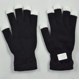 Wholesale Magic Hand Glove - Wholesale- SYB 2016 NEW Amazing 7 Mode LED Magic Light Show Hand Finger Lighting Flashing Party Gloves