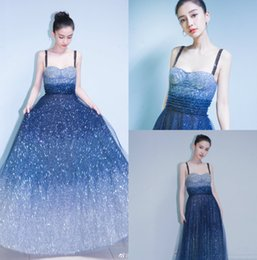 Wholesale White Star Line Silver - Long Prom Dresses Free Shipping Sweetheart Neckline Bling Bling Sequins Angelababy Star Dress Floor Length Sleeveless Formal Evening Gown