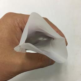Prensas de té online-Bolsas de prensa de resina de grado médico de grado alimentario 100 micras 2.6x4.3in filtro de té bolsas de resina de nylon 100u