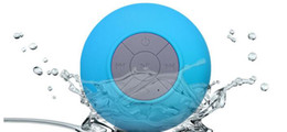 Wholesale Free Call Button - Hotsell Portable Waterproof Wireless Bluetooth Speaker mini Suction IPX4 speakers Shower Car Hand free Receive Call & Music Car Speaker