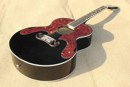 Wholesale Black Star Guitar - Wholesale- Best acoustic guitar,solid black,rosewood bridge and fingerboard,star inlay ,with EQ with tortoise pickguard.Real photo shows