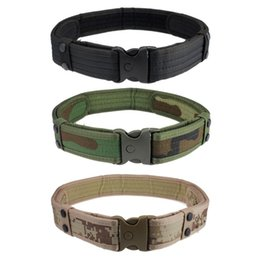 Wholesale Hunting Free Shiping - 2017 designer high quality mens belts luxury New Woodland Camo Waistband Tactical Hunting Field Belt Free Shiping