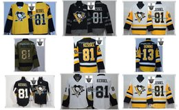 Wholesale Male Cup - Male Pittsburgh Penguins 2017 Stanley Cup Finals Patch Phil Kessel Nick Bonino Throwback Jerseys Green Yellow Black White Size S~3XL Cheap