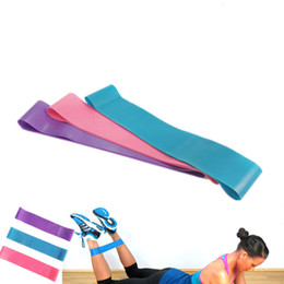 Wholesale Loop Band Yoga - Tension Resistance Band Pilates Yoga Rubber Resistance Bands Fitness Loop rope Stretch Bands Crossfit Elastic Resistance Band Bodybuilding