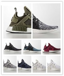 Wholesale White Color Boots - 2017 Cheap Men NMD Running Shoes,Newest Color,Size 36-44 Men Nmd R1 Running Shoes For Men Top Boots,Sports Shoes nmd xr1