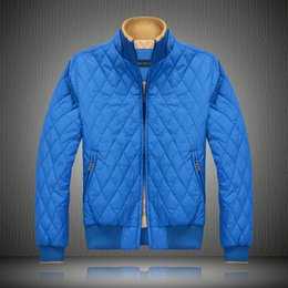 Wholesale Male Outdoor Jacket - 2017 Men's Jackets Solid Fashion Coats Male Casual Slim Winter men Ultralight Down Jacket Outdoors Collar Winter Parka Coat