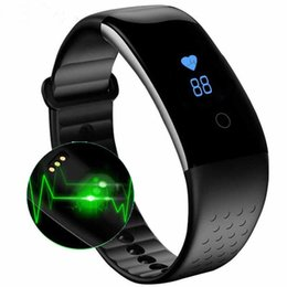 Wholesale S1 Smart Phone - Wholesale- S1 Heart Rate Monitor Smart Bracelet Fitness Tracker Waterproof Swimming Smart Band for Android ios Phone pk mi band 2 fit bit