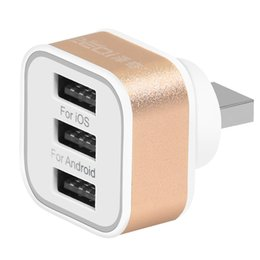 Wholesale Wholesale Portable Charging Device - New Wholesale universal portable 1 3 USB ports quick adapter travel wall portable charger with Multiple devices at the same time charging