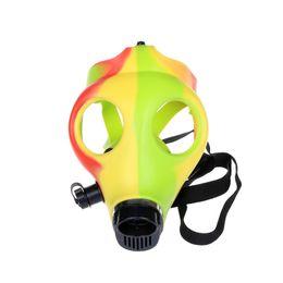 Fumer Dogo En Gros De Haute Qualité Coloful Date Masque À Gaz Bong Eau Fumer Tuyau Bongs Accessoires SBO-012 ? partir de fabricateur