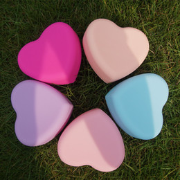 Wholesale Brush Cleaning Pads - NEW Fashion Brush Egg Cleaning Heart Shape Makeup Washing Brush Pad Silicone Glove Scrubber Cosmetic Foundation Powder Clean Tools