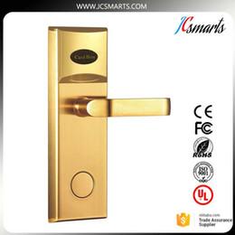 Wholesale Access Boards - Zinc alloy door handle lock hotel door lock with IC card board for hotel room access security