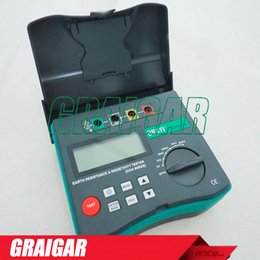 Wholesale Grinding Soil - Duoyi DY4300B 4-Terminal Digital Ground Resistance Tester Soil Resistivity Tester 0.05-209.9K ohm 0.2-1999K ohm*m